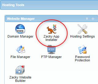 Zacky app installer icon
